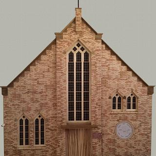 Intarsia?? Marquetry?? Church - Project by Dutchy