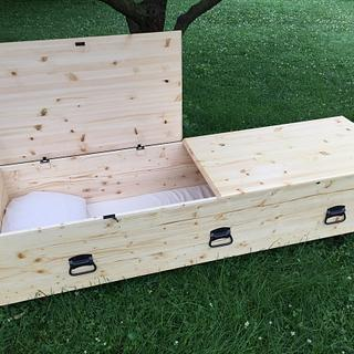 Simple Pine Casket - Project by Michael Ray