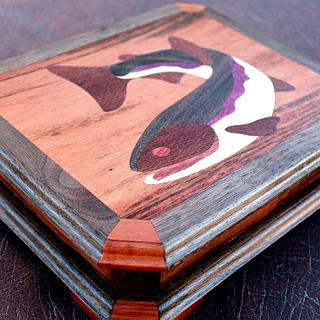 FishFry's KickinIt Jewelry Box - Woodworking Project by EZInlays