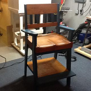 New drafting table chair - Woodworking Project by Jack King