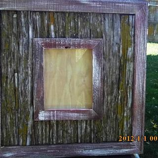 picture frame - Cake by barnwoodcreations