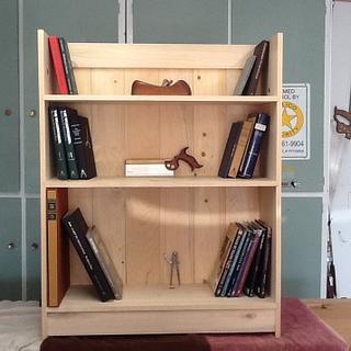 A Boarded Bookcase