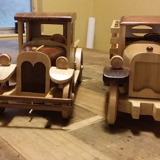 Christmas trucks. - Woodworking Project by carlos