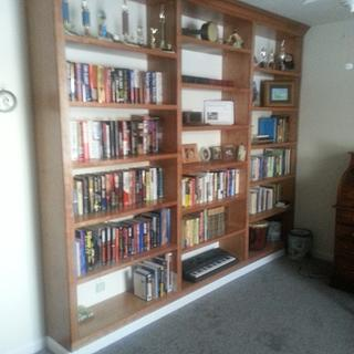 Library bookcase - Woodworking Project by Tdeck