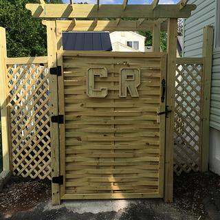 New Gate - Woodworking Project by Angelo