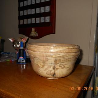 Wood Bowl - Woodworking Project by Gary Houde