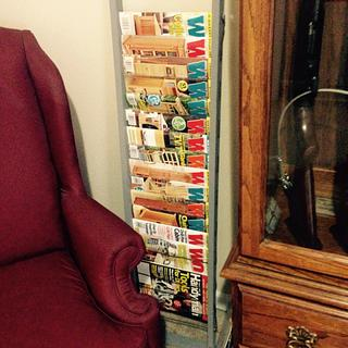 Wood mag rack - Woodworking Project by Bill Higgins