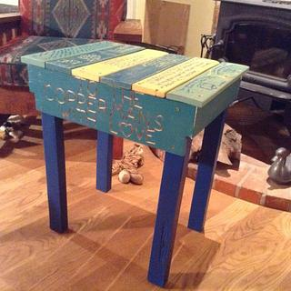 Pallet Wood End Tables - Gifts - Woodworking Project by Stan Pearse