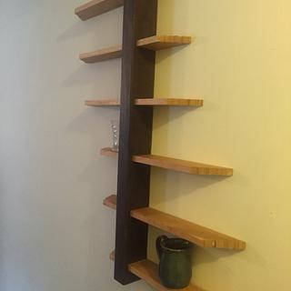 off centerwall shelf - Project by Jeff