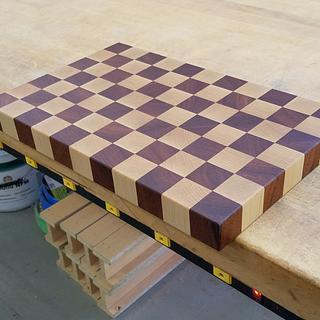 Butcherblock Cutting Board  - Project by Steve66