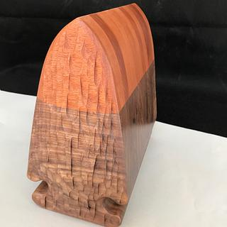 Arrowhead Cremation Urn - Woodworking Project by Roger Gaborski