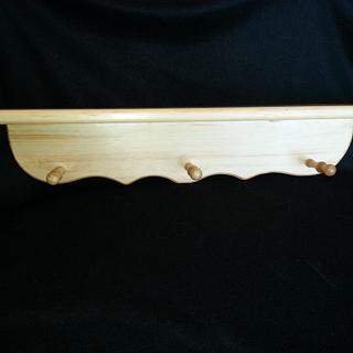 "Pine shelving 24"" - Woodworking Project by Jeff Vandenberg"