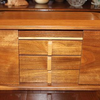 Walnut Jewelry Box - Woodworking Project by Dandy