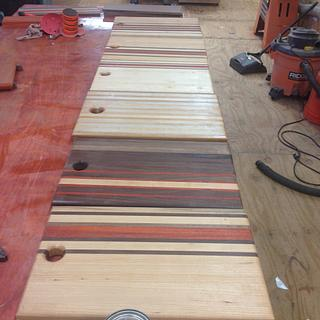 Edge grain Cutting boards - Project by Jeff