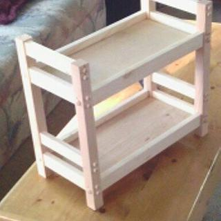 doll bunk bed - Woodworking Project by masterdave
