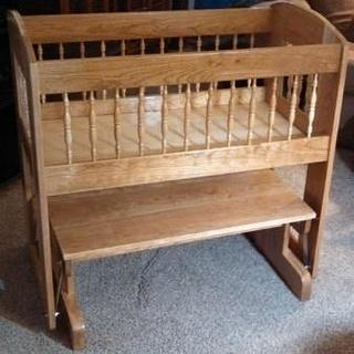 Cradle #3 A Gliding cradle - Woodworking Project by Papa Time