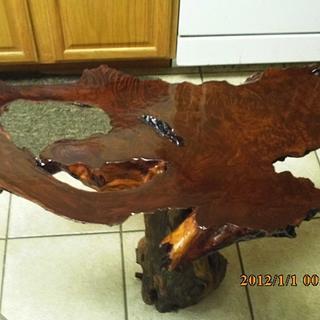 redwood slab - Cake by barnwoodcreations