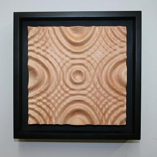 Multiple Ripples Carving - Woodworking Project by Roger Gaborski