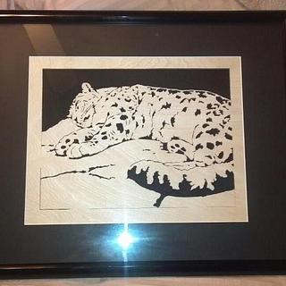 Snow leopard - Cake by Corey