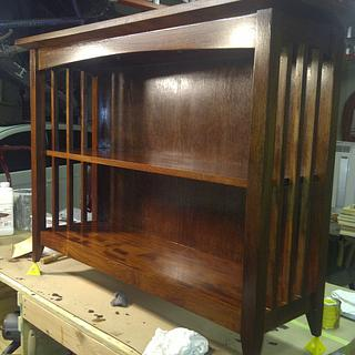 Mahogany bookcase - Project by Bill