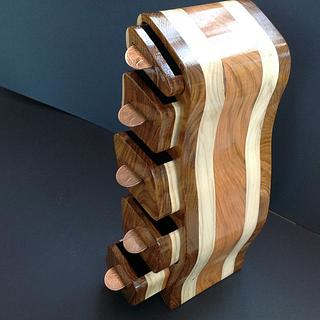 The Penny Tower - Woodworking Project by Malcolm & Mark