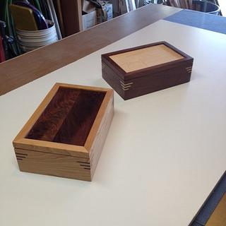 Tea Boxes - Project by Hartman Woodworks
