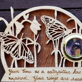 Butterfly Plaque - Cake by Celticscroller