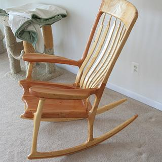 Rocking Chair - Cake by MJCD