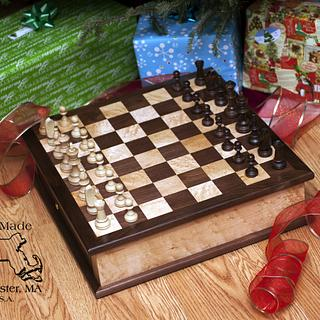 First Chessboard - Woodworking Project by Jayson