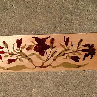 Learning marquetry - Woodworking Project by Boris