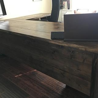 Custom Office Desk - Project by B Gabourie