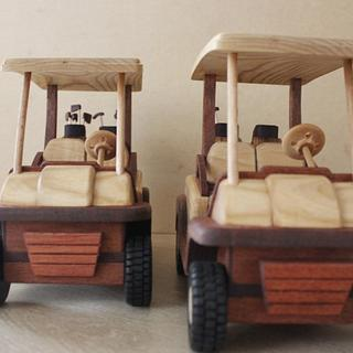Golf carts - Woodworking Project by Dutchy