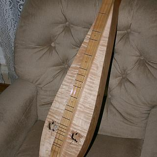 Curly Maple Mountain Dulcimer-Electric - Woodworking Project by Jack Ferguson