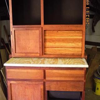 hoosier cabinet - Cake by barnwoodcreations