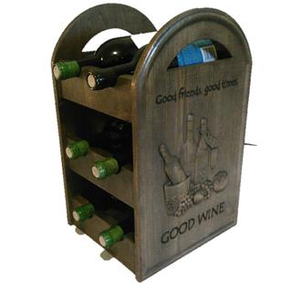 Wine Caddy - Project by CNC Craze