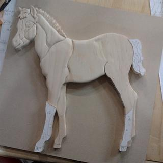 Colt Intarsia - Woodworking Project by Debbie Tasa