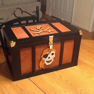 Pirate treasurer chest - Cake by Jack King