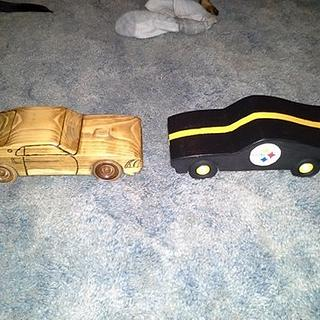 Christmas cars for the kids - Project by Bens Wood Pile