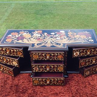 Marquetry Jewellery Box - Project by shipwright
