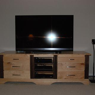 Entertainment Center - Woodworking Project by Anthony