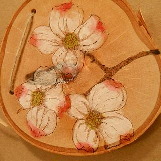 Dogwood Blossoms - Cake by CharleeAnn