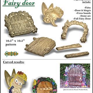Secret Fairy Door - Project by CNC Craze
