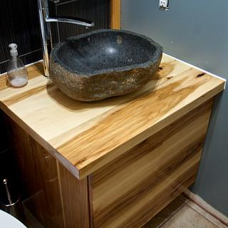 Bathroom Vanity - Woodworking Project by Manitario