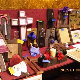 craft show items - Cake by barnwoodcreations