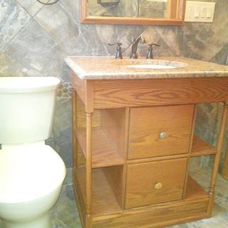 Custom Vanity  - Woodworking Project by Peepaw