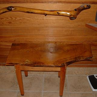 bathroom bench - Woodworking Project by grizzman