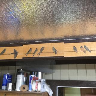 Swallows in my Rafters - Woodworking Project by shipwright