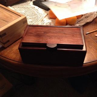 Cherry box - Project by Jeff Moore