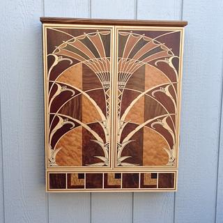 Dart Board Cabinet - Cake by Terry