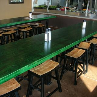 Restaurant tables - Project by Bill